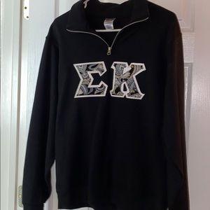 Sweaters - Sigma Kappa Quarter Zip-Up
